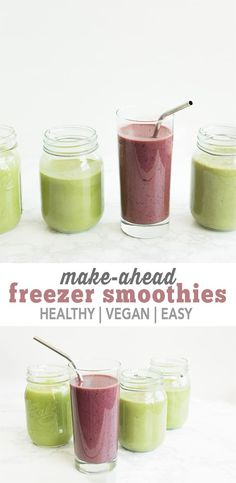 Make Ahead Freezer Smoothies are going to save you so much time while still keeping you healthy and on the go. Don't forget to bookmark this in your browser for easy access later! Freezer smoothies. It's a thing that you 100% need in your life, especially as the busy on-the-go mom that you are. Honestly, …