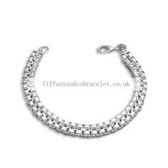 Tiffany And Co Bracelet Chain Silver 033 Tiffany And Co Bracelet, Tiffany Jewelry, Pandora Uk, Pandora Jewelry, Tiffany Uk, Jewellery Uk, Handmade Jewelry, Chain, Silver