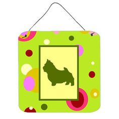 Caroline's Treasures Norwich Terrier Aluminum Graphic Art Plaque