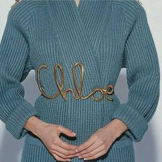 Jewerly 2018 Fall Ideas For 2019 Fashion 2017, Fashion Trends, Holiday Outfits, Belts For Women, Fashion History, Fashion Details, Fashion Design, Karl Lagerfeld, Chloe