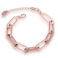 SSMN Women's Gpld Plate Bracelet