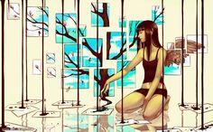 Ilustrações incríveis de Qing Han - O Blog do Magrelo | humor, entretenimento, vídeos, curiosidades...