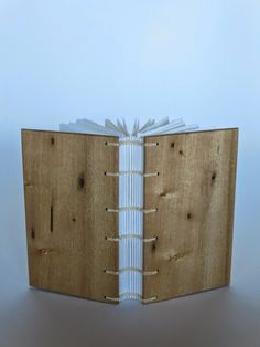 guest book / huon pine covers -by Fiona Dempster