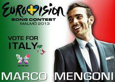 Vote for Italy #eurovision #ESCita