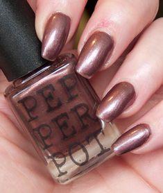 Brown Nail Polish 5 Free Indie Handmade Nail by PepperPotPolish