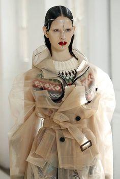 #MaisonMargiela - Couture Fall Winter 2017 fashion show | Details
