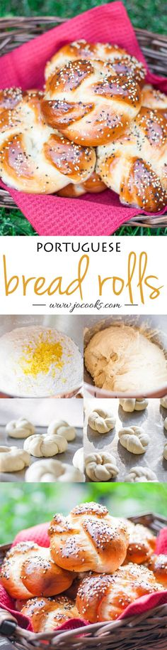portuguese-sweet-bread-rolls-collage
