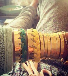 Wanted : des dizaines de bracelets Aurélie Bidermann ! (instagram Aurélie Bidermann)