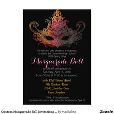 Shop Custom Sweet Sixteen Masquerade Ball - Navy Invitation created by markalino. Personalize it with photos & text or purchase as is! Sweet 16 Masquerade, Masquerade Ball Party, Masquerade Wedding, Masquerade Theme, Masquerade Ball Decorations, Halloween Masquerade, Masquerade Attire, Masquerade Centerpieces, Quince Decorations