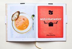 """Book design by Julia Lingertat for """"Vintage Cooking"""" Page Layout Design, Web Design, Graphic Design Tips, Book Layout, Graphic Design Inspiration, Print Design, Cookbook Design, Identity, Books"""