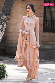 Salmon Pink Color Georgette Fabric Salwar Kameez  Note :  Please select WITH STITCHING option to do tailor fitting for this dress. We will send you measurements form on your registered email once you place the order.  Slight variation in color, fabric & work is possible. Model images are only representative.  The […]