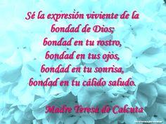 Frase Madre Teresa  de Calcuta