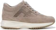Shop Hogan Interactive Sneakers and save up to EXPRESS international shipping! Adidas Sneakers, Footwear, Lace Up, Beige, Marketing, Shopping, Fashion, Moda, Shoe