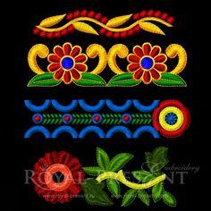 Набор из четырех дизайнов для орнаментов