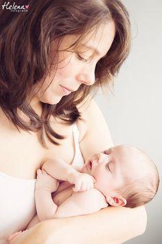 Babyfotografie | Moeder dochter fotosessie | Helena Fotografie www.helenafotografie.nl