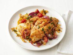 Catfish Baked in Foil {Food Network Magazine, Nov. 2012}