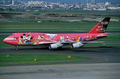Japan Airlines: Disney