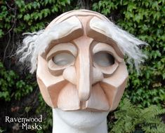 Commedia Dell'Arte Masks by Alyssa Ravenwood Available for sale at Ravenwood Masks This set of masks was made for a theater production of A Servant of Two Masters in Texas. Mask made out of neopren...