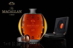 If only 400 bottles of your favorite tipple's limited edition are available then expect it cost as much as this Macallan 60 does. Its a sweet $20,000 for each bottle and only 72 of the 400 are going to be released in the United States. The whisky has been matured in casks that were filled way back in the 1950s. The whisky is characteristic of the era and is heavily peated.