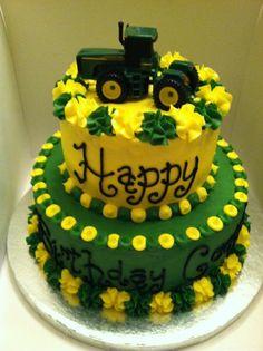 Sweet Treats by Susan: Tractor Birthday Cake
