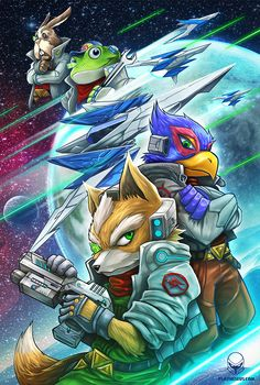 Star Fox by Pertheseus