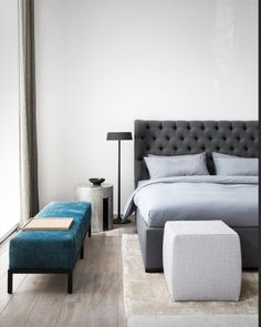 Loren bed - design ANDREA PARISIO for Meridiani