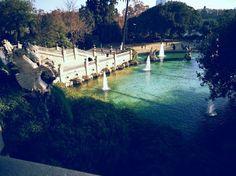 Park w Barcelonie