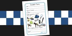 Australia - Police Incident Form