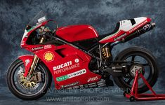 Racing Cafè: Ducati 996 Factory C. Ducati 998, Ducati Superbike, Moto Ducati, Ducati Cafe Racer, Motocross, Motorbikes, Ferrari, Racing, Motorcycle