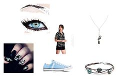 """""""Short and Shirt"""" by midnighttt ❤ liked on Polyvore featuring Old Navy, Converse and Banana Republic"""