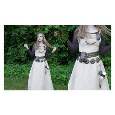 ~ Viking Princess of the North ~ ❤ liked on Polyvore featuring dresses