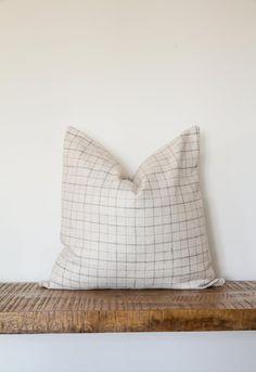 Cushion COVERS 40x60 cm Plaid 1x1 cm Cotton Check Pillow Case Cushion