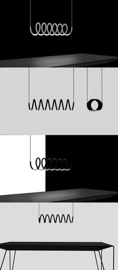 The Helix lamp isn't just a fascinating looking lighting equipment. It is pretty fascinating, but there's also that sense of deja vu you get until the symbolism hits you. #Lighting #Tungsten #Lamp #YankoDesign