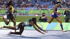 Rio 2016: oro olimpico (con tuffo) ai 400 femminili per Shaunae Miller. Guarda il video dell'Incredibile impresa!