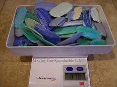 How to make soap bars out of soap slivers