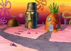 Spongebob Woman T-shirts woman t shirt white Spongebob House, Spongebob Cartoon, Wallpaper Iphone Cute, Aesthetic Iphone Wallpaper, Wallpaper Backgrounds, Spongebob Background, Katarina League Of Legends, Spongebob Painting, Artsy Photos
