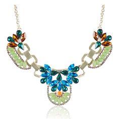 Colorful Antique Choker Necklace