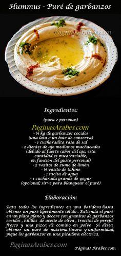 Hummus – Puré de garbanzos