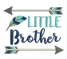 Little Brother Machine Embroidery Design