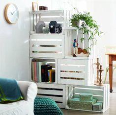 Galleria foto - Cassette in legno per arredare casa Foto 2