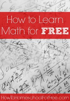 Do you need a full math curriculum or math printables? Check out these amazing FREE online math resources!