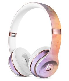 Washed 42 Absorbed Watercolor Texture Full-Body Skin Kit for the Beats by Dre Solo 3 Wireless Headphones
