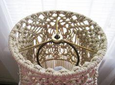 Macrame Lamp Shade for Floor Lamp Sprigs Handmade by craft2joy