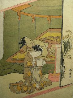Harunobu, Suzuki (1725-1770) The secret love letter