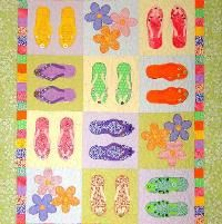 Flip-Flop Jumble - via @Craftsy