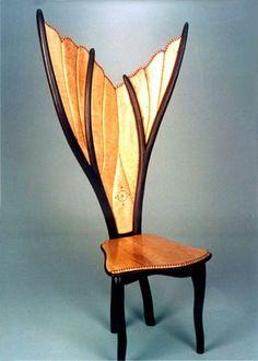 Steven Spiro---Sculptural Wood Furniture  www.fallarttour.com Oct 19.20.21.