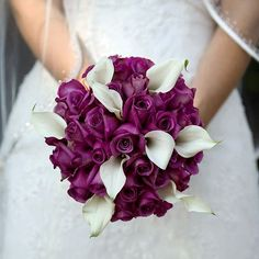 fall wedding flowers purple   Purple Wedding Flowers Fall on ... Purple Wedding Flowers For ...