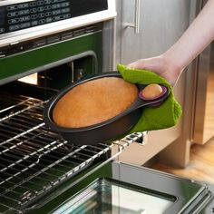 Nibble Testing Cake Pan - $26 #kitchen #cook #eat #meal #dessert #cake #nonstick #shape #lid