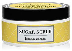Deep Steep Sugar Scrub  - Lemon Cream -- 8 oz - Vitacost This version of the scent smells SO GOOD. The scrub is not nearly scrubbyenough for body exfoliation, but the added oils make it awesome for a moisturizing hand scrub. Will try other scents too.