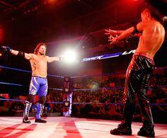 AJ Styles and Shinsuke Nakamura ( My favorite dream match come to life)